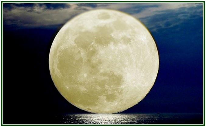 A Lua Cheia de Maio com mold