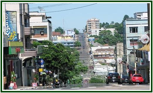 Centro da cidade de Ijuí