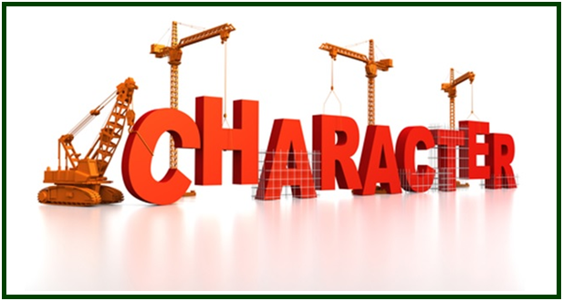 building up  character